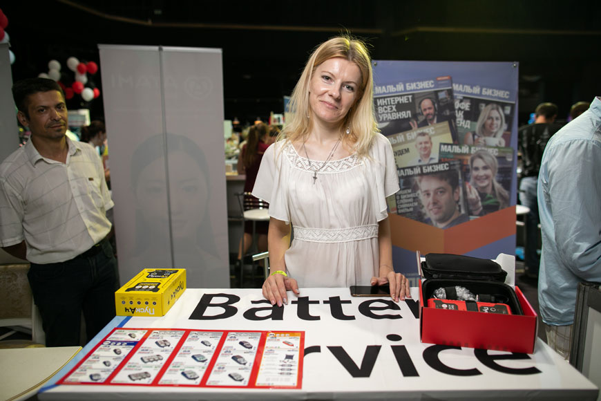 Анастасия Фалаштинская, Buttery service, руководитель направления дилерских продаж, экспонент